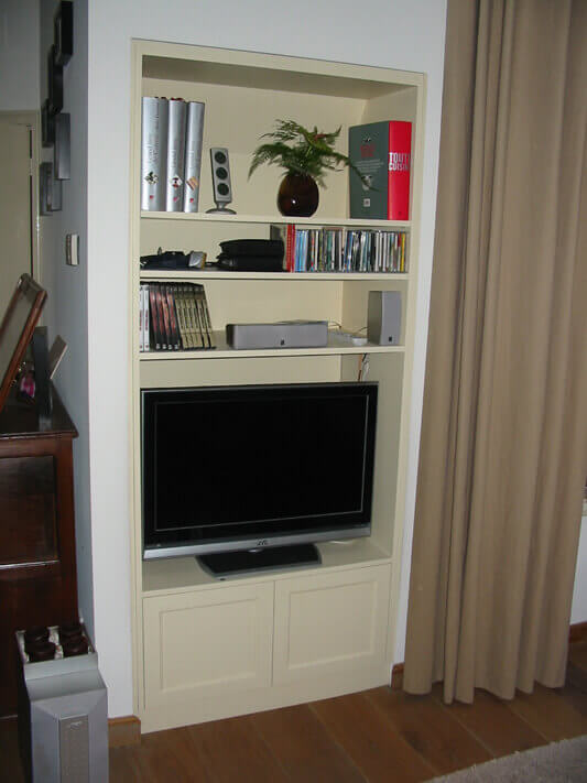 Audio tv meubel op maat breda ben interieurbouw - Am pm meubels ...