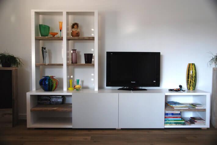 Audio tv meubel op maat zevenbergen ben interieurbouw breda - Am pm meubels ...