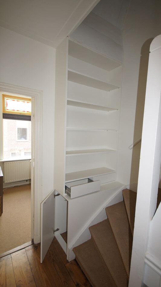 Boekenkast op maat laten maken   Ben interieurbouw, Breda